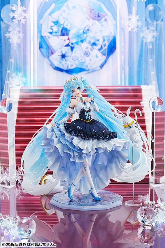 Character Vocal Series 01 Hatsune Miku Snow Miku Snow Princess Ver. 1/7 Complete Figure 4