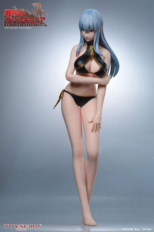 Valkyria Chronicles Selvaria Bles 1/6 Seamless Action Figure 7