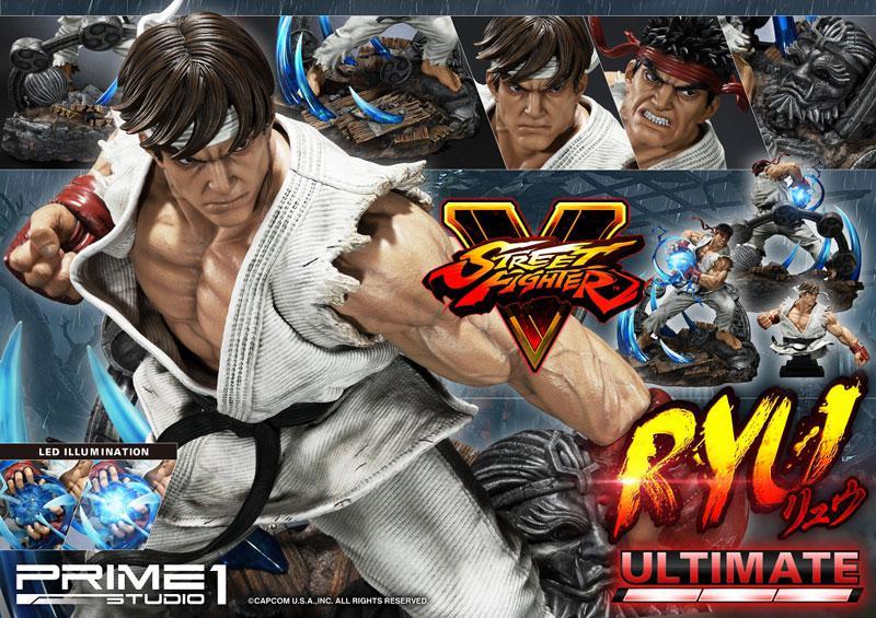 Premium Master Line Street Fighter V Ryu Ultimate 1/4 Statue 16