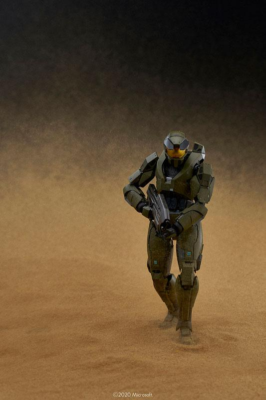 Halo 1/12 RE:EDIT Master Chief MJOLNIR Mark V Action Figure 13