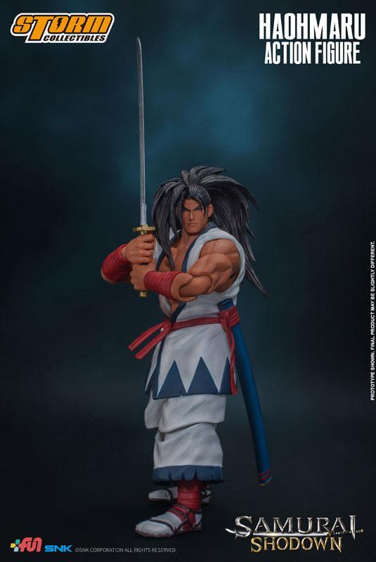 Samurai Shodown Action Figure Haohmaru