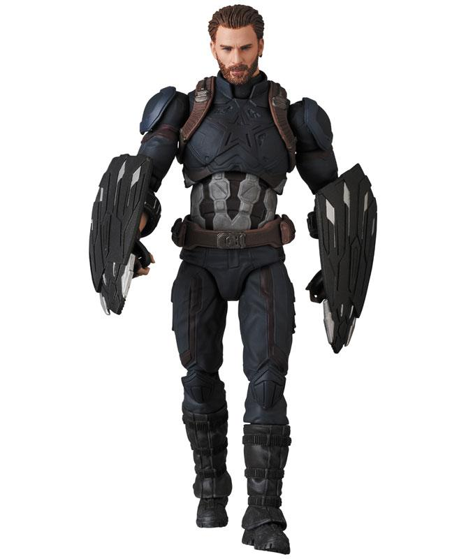MAFEX No.122 MAFEX CAPTAIN AMERICA (INFINITY WAR Ver.) product
