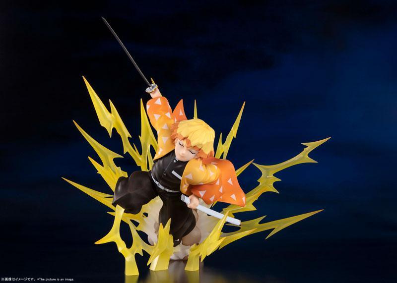"Figuarts ZERO Zenitsu Agatsuma -Breath of Thunder- ""Demon Slayer: Kimetsu no Yaiba"" product"