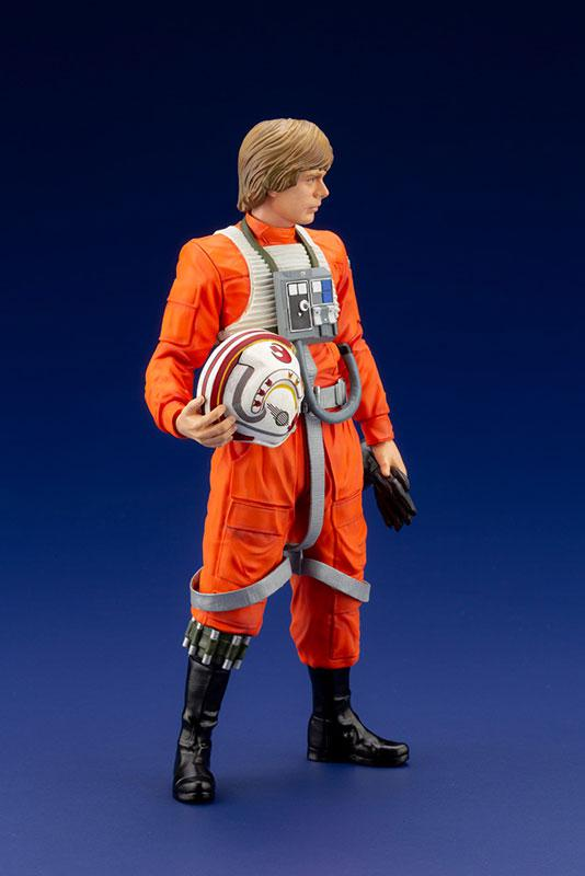 ARTFX+ Star Wars Luke Skywalker X-WING Pilot 1/10 Easy Assembly Kit