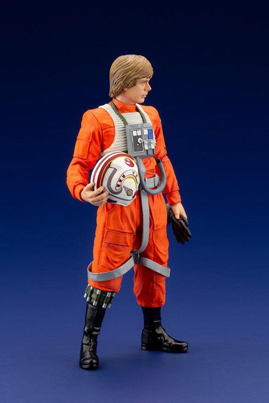 ARTFX+ Star Wars Luke Skywalker X-WING Pilot 1/10 Easy Assembly Kit 2