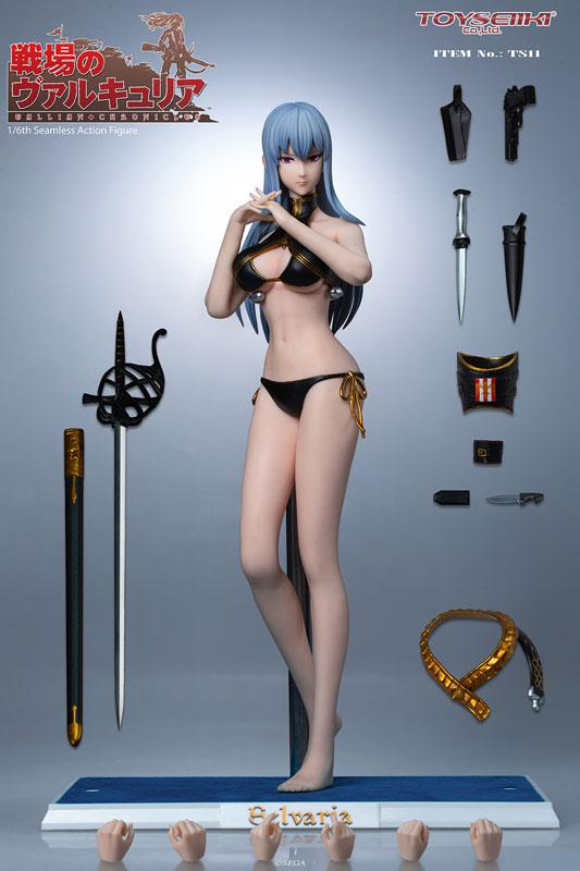 Valkyria Chronicles Selvaria Bles 1/6 Seamless Action Figure 13