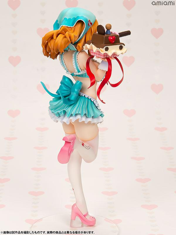 DreamTech Girls und Panzer Saori Takebe [Valentine Apron] 1/7 Complete Figure 4