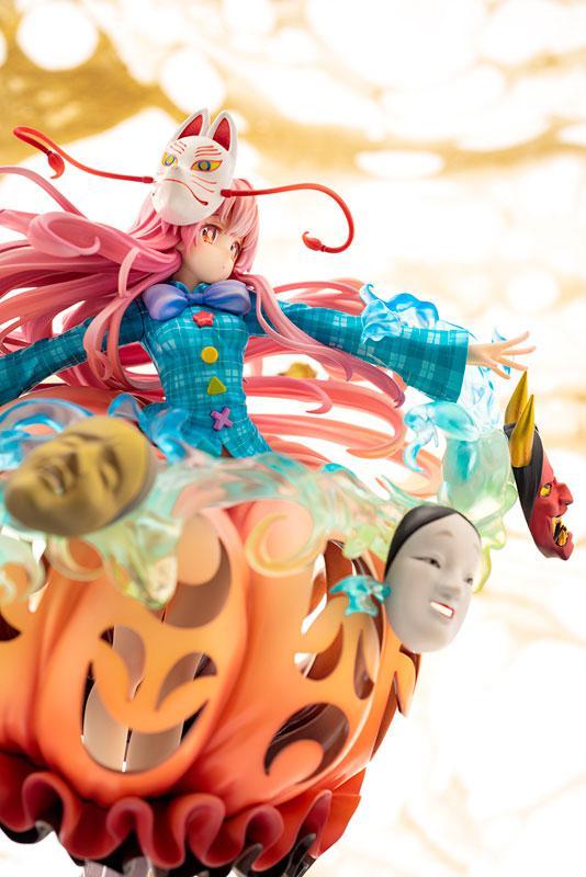 "Touhou Project ""The Expressive Poker Face"" Kokoro Hatano 1/8 Complete Figure 9"