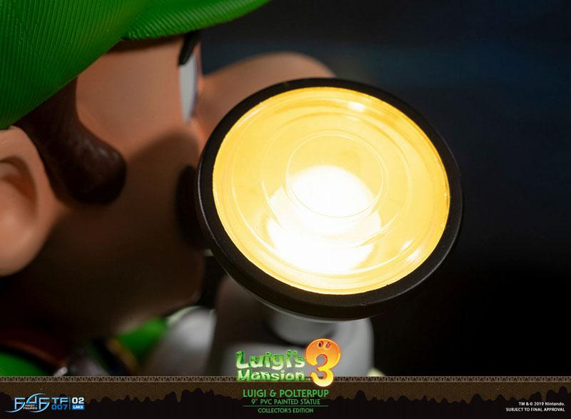 Luigi's Mansion 3/ Luigi 9 Inch PVC Statue Collector Edition