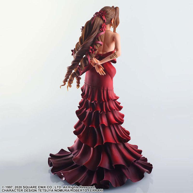 Final Fantasy VII Remake STATIC ARTS Aerith Gainsborough -Dress Ver.-