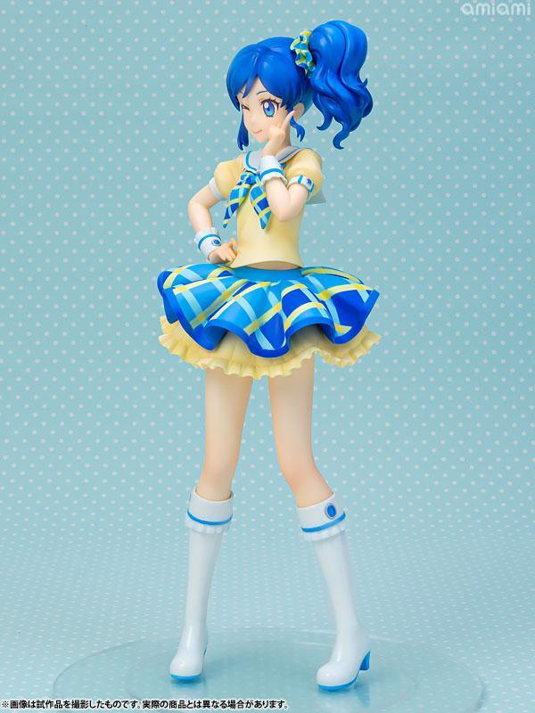 Lucrea Aikatsu! Aoi Kiriya Blue Stage Coord 1/7 Complete Figure 1