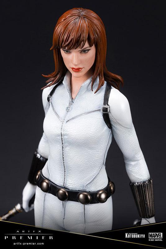 ARTFX PREMIER MARVEL UNIVERSE Black Widow White Costume Edition 1/10 Simple Assembly Kit