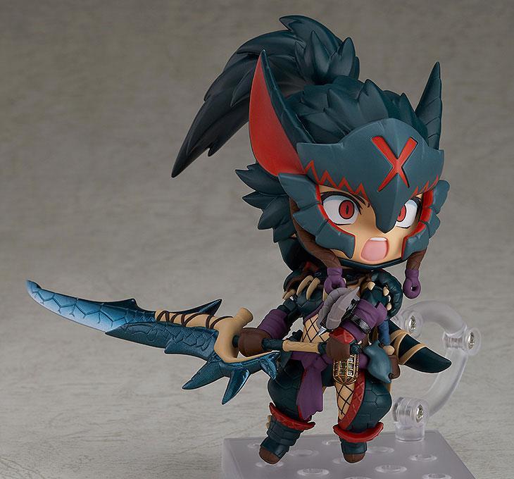 Nendoroid Monster Hunter World: Iceborne Hunter: Female Nargacuga Alpha Armor Ver.