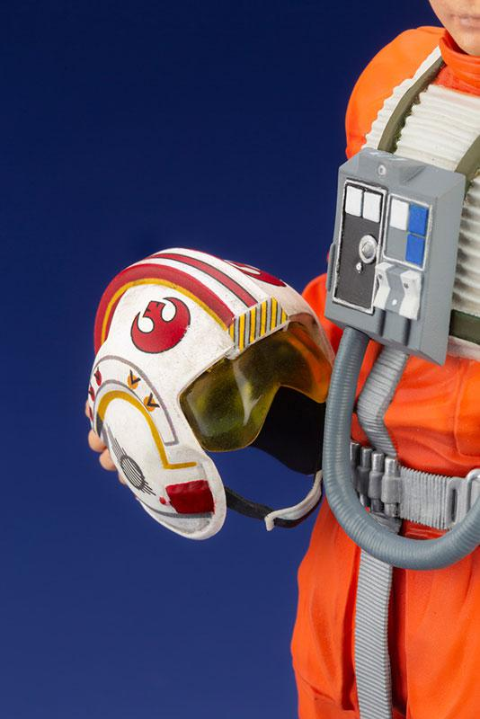 ARTFX+ Star Wars Luke Skywalker X-WING Pilot 1/10 Easy Assembly Kit 6