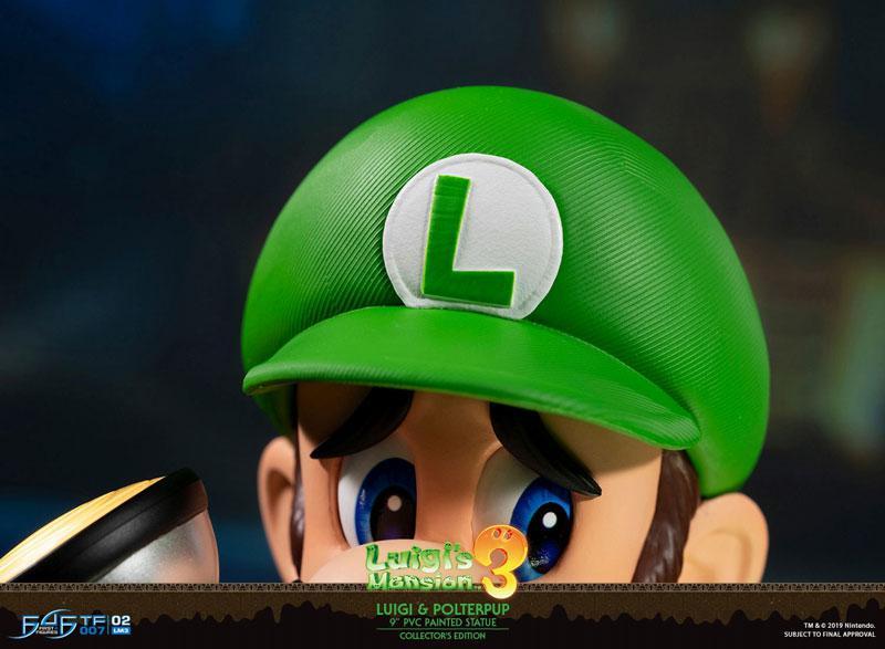 Luigi's Mansion 3/ Luigi 9 Inch PVC Statue Collector Edition 16