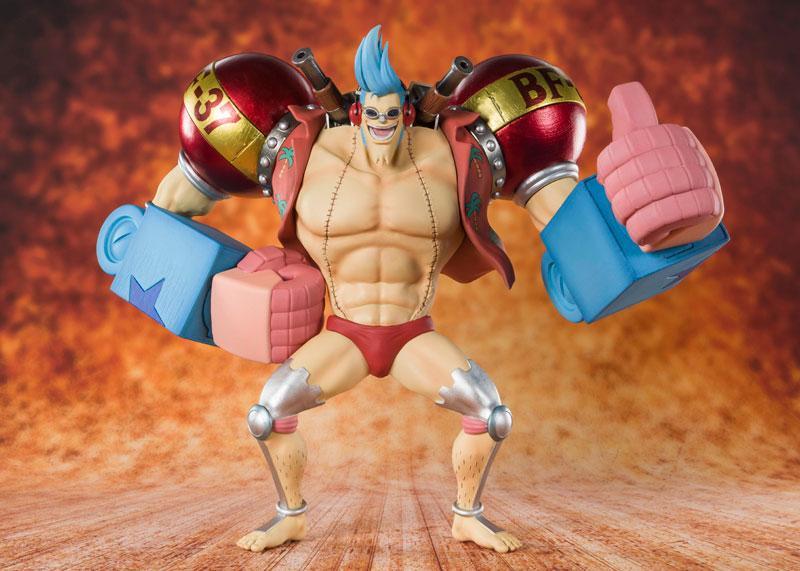 "Figuarts ZERO Iron Man Franky ""ONE PIECE"""