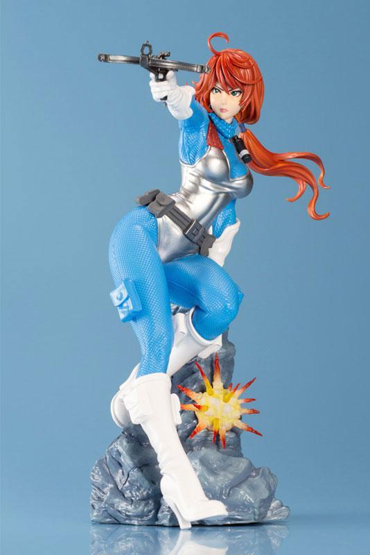 G.I. JOE Bishoujo Scarlett Sky-blue Limited Edition 1/7 Complete Figure main