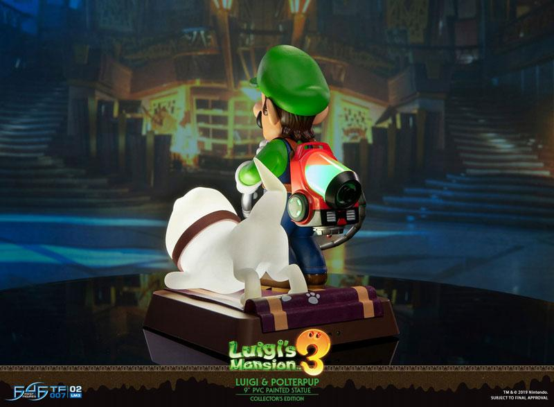 Luigi's Mansion 3/ Luigi 9 Inch PVC Statue Collector Edition 5