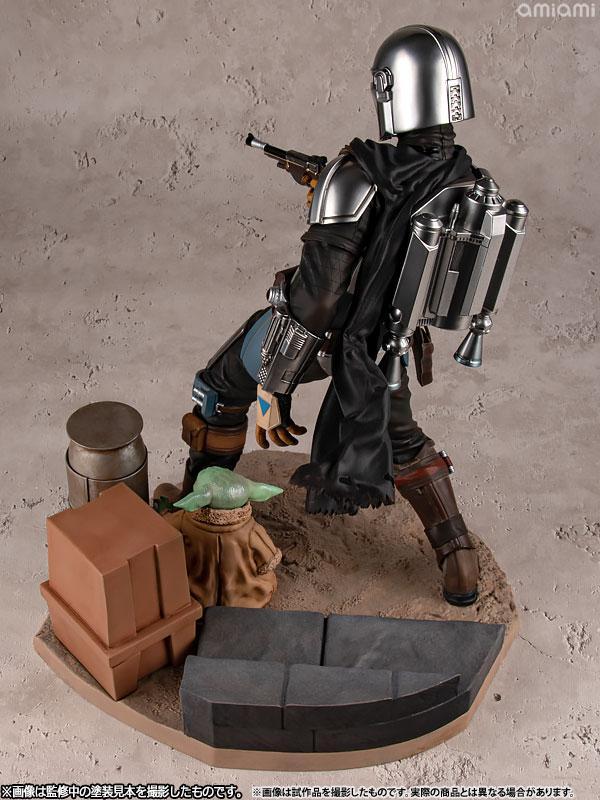 ARTFX Mandalorian Mandalorian & The Child 1/7 Easy Assembly Kit