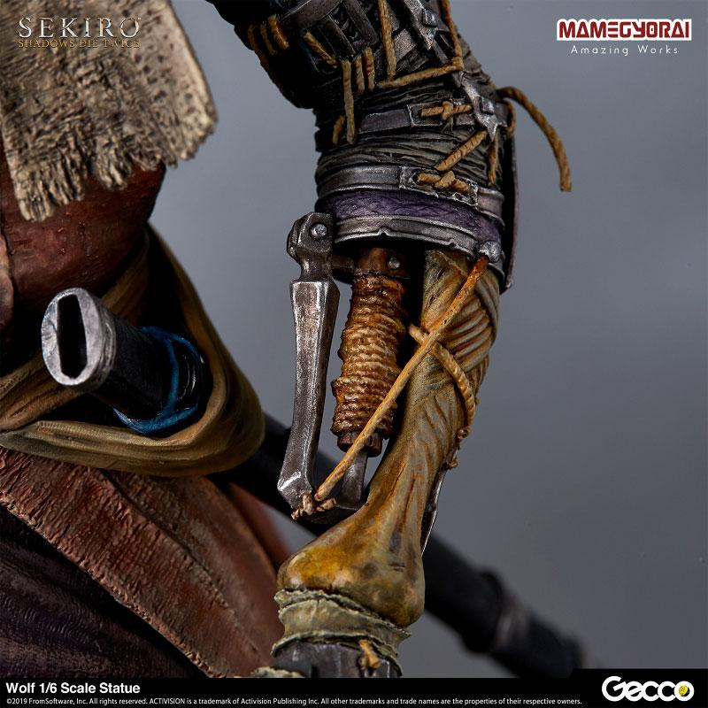 [Bonus] SEKIRO: SHADOWS DIE TWICE/ Wolf 1/6 Scale Statue 12