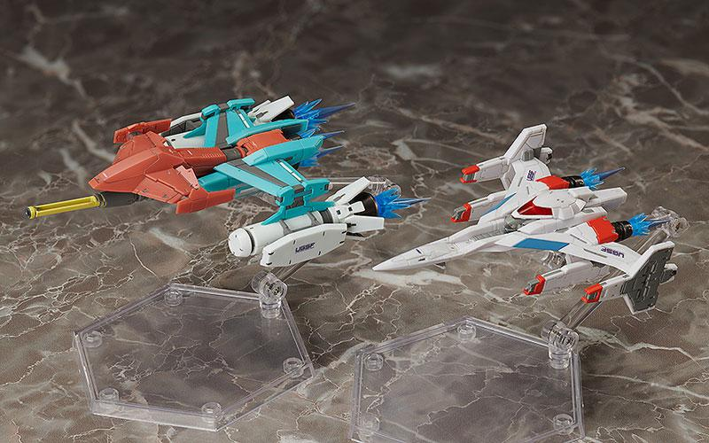 figma Galaxian Galaxip GFX-D001a / Galaga Fighter GFX-D002f main
