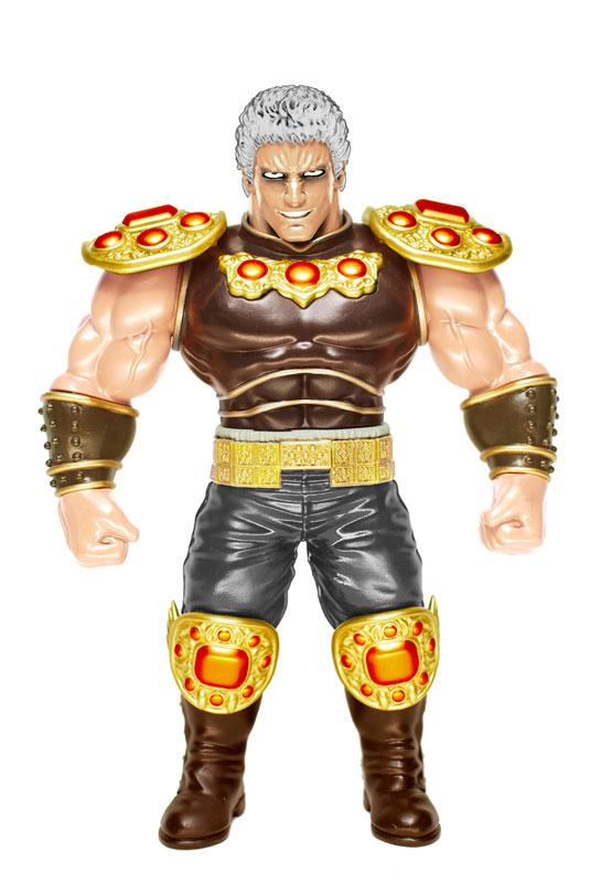 Japan Sofubi Series Fist of the North Star Vol.1 Raoh Original Color Ver. Complete Figure
