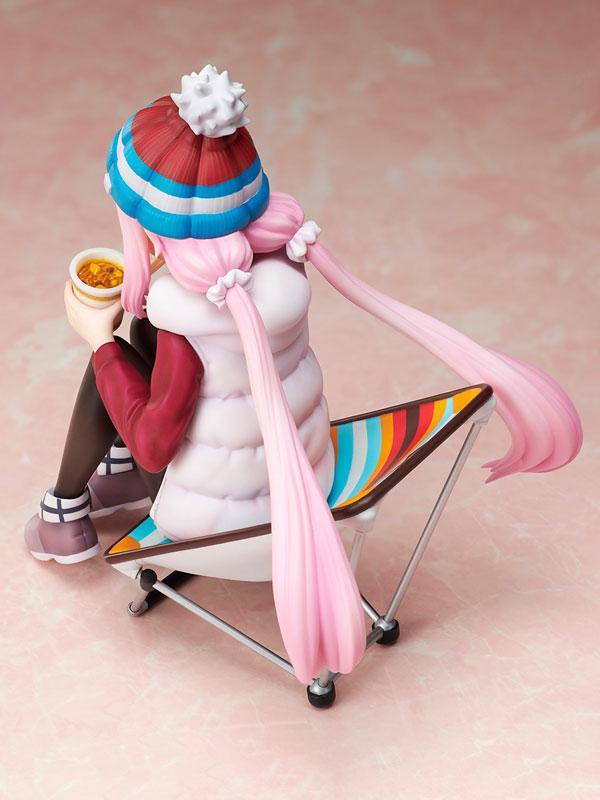 Yuru Camp Nadeshiko Kagamihara 1/8 Premium Noodle Stopper Figure