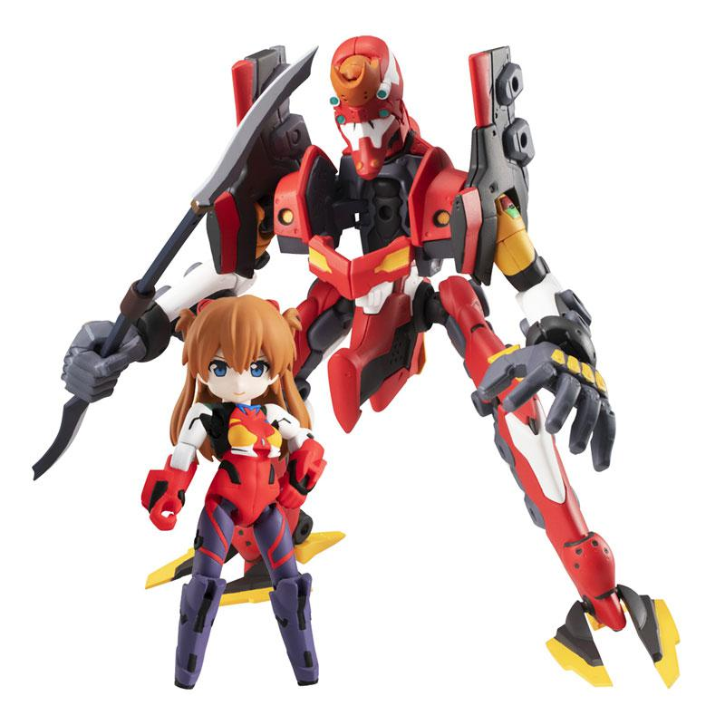 Desktop Army Rebuild of Evangelion Asuka Langley Shikinami & EVA-02