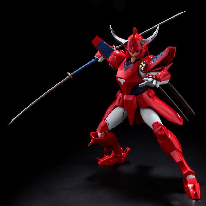 Choudan Kadou Ronin Warriors Ryo of the Wildfire Posable Figure 6