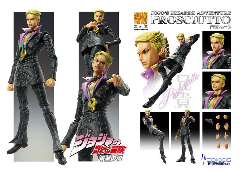 Super Action Statue JoJo's Bizarre Adventure Part.V Prosciutto