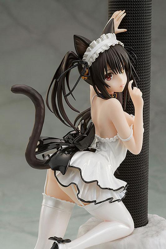 KDcolle Date A Live III Kurumi Tokisaki White Cat Ver. 1/7 Complete Figure 5