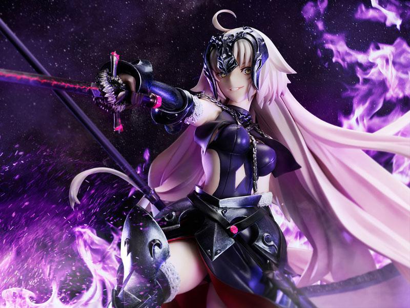 Fate/Grand Order Avenger / Jeanne d'Arc [Alter] Kuraki Homura wo Matoishi Ryuu no Majo 1/7 Complete Figure main