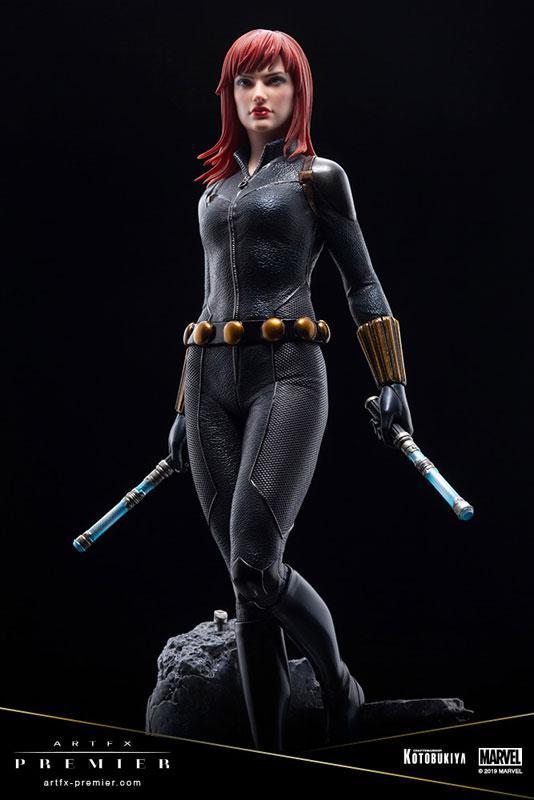 ARTFX PREMIER MARVEL UNIVERSE Black Widow 1/10 Easy Assembly Kit 8