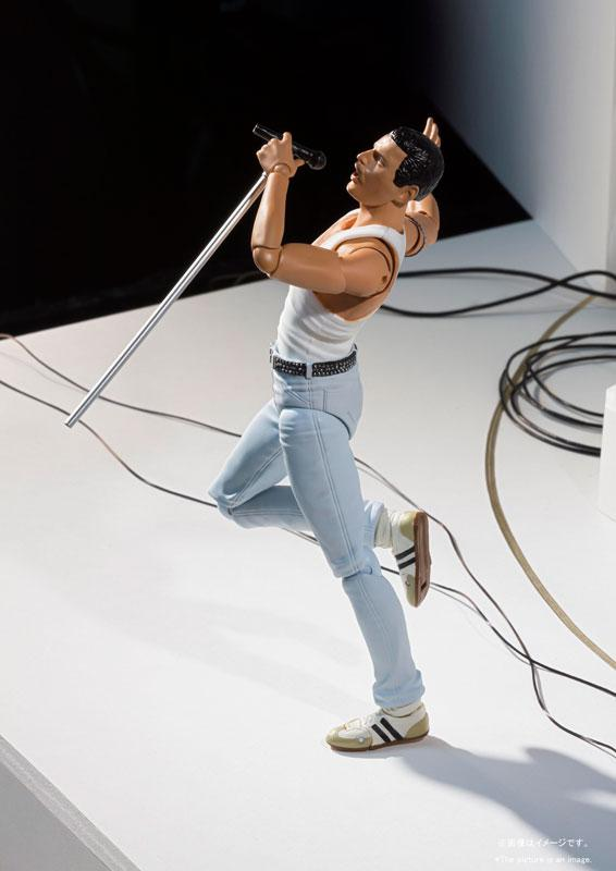 S.H.Figuarts Freddie Mercury LIVE AID Ver. 1