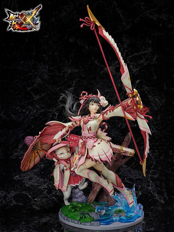 MONSTER HUNTER XX Mitsune Series Female Gunner 1/7 Complete Figure
