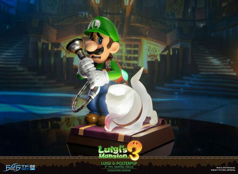 Luigi's Mansion 3/ Luigi 9 Inch PVC Statue Collector Edition main