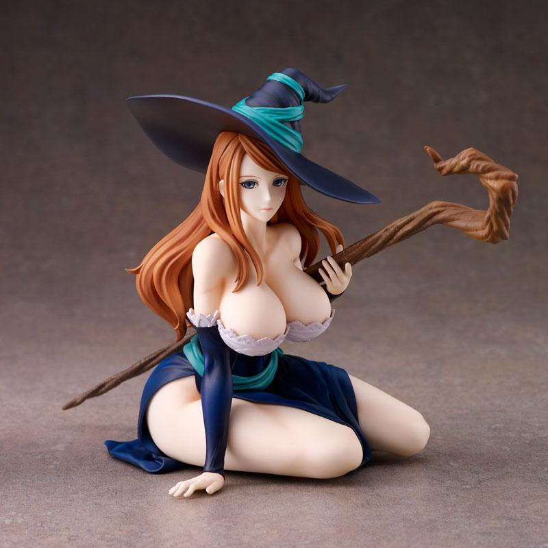 """Dragon's Crown"" Sorceress Deep Blue Ver. Complete Figure main"