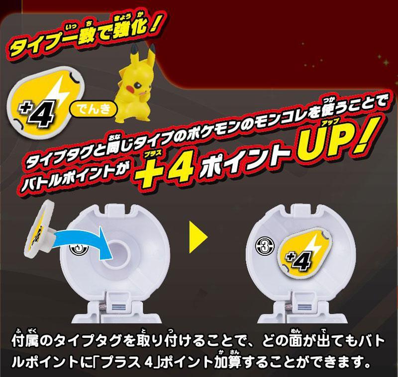 Pokemon MonColle PokeDel-Z Pikachu (Pokeball) 2