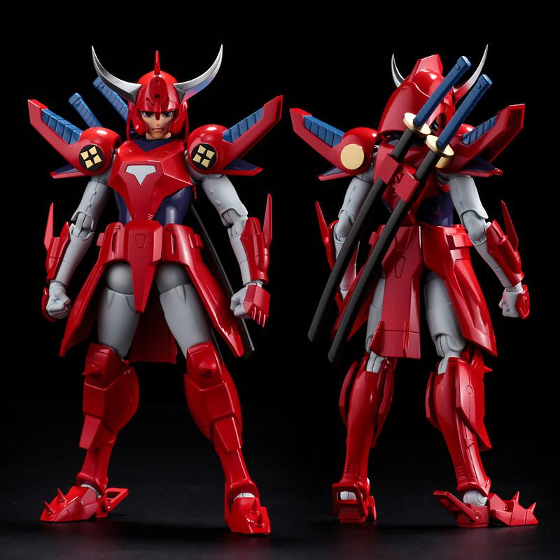 Choudan Kadou Ronin Warriors Ryo of the Wildfire Posable Figure 0