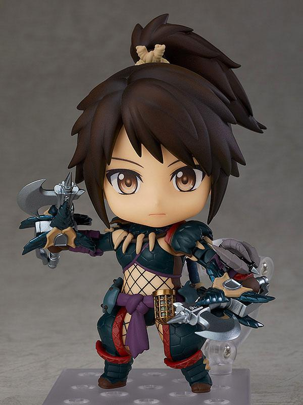 Nendoroid Monster Hunter World: Iceborne Hunter: Female Nargacuga Alpha Armor Ver. DX product