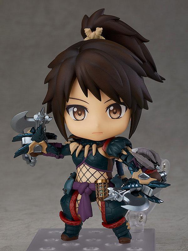 Nendoroid Monster Hunter World: Iceborne Hunter: Female Nargacuga Alpha Armor Ver. DX main
