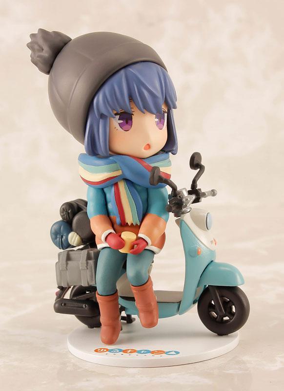 Yuru Camp Rin Shima Mini Figure