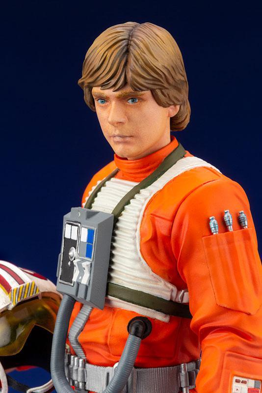 ARTFX+ Star Wars Luke Skywalker X-WING Pilot 1/10 Easy Assembly Kit 5