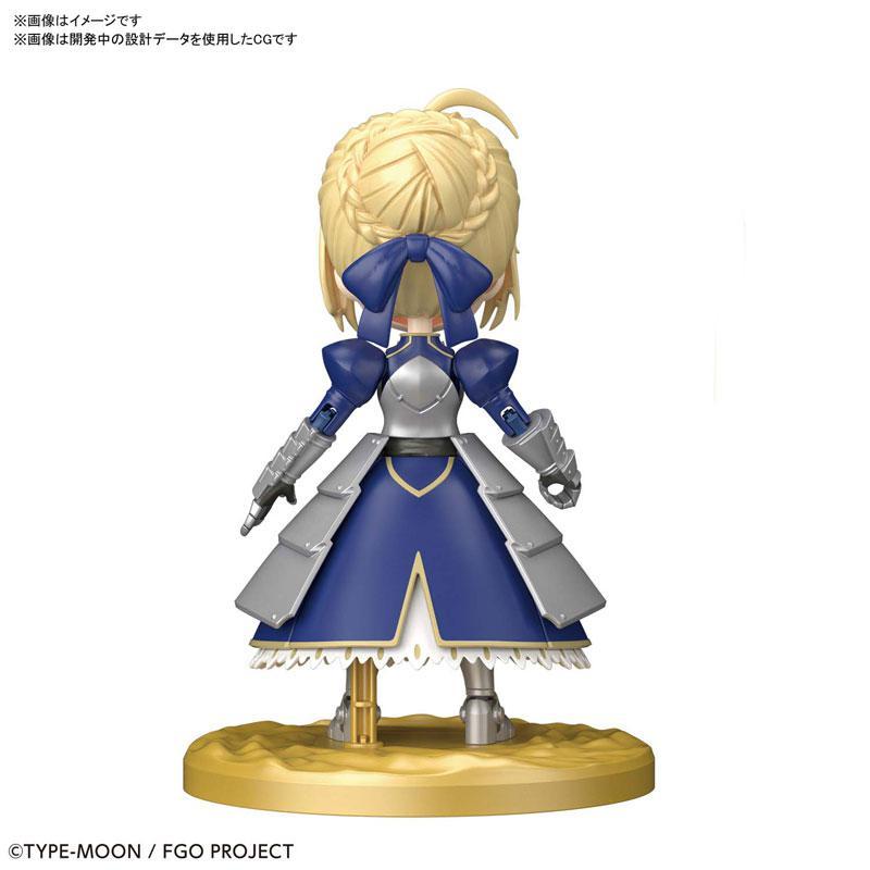 """Puchirittsu Saber/Altria Pendragon Plastic Model """"Fate/Grand Order"""" 1"""