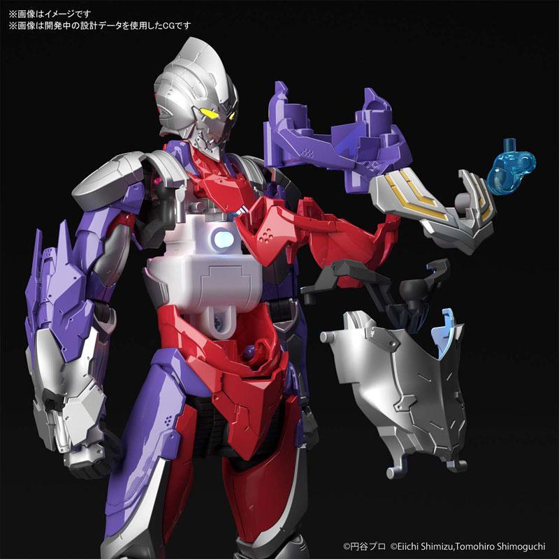 "Figure-rise Standard 1/12 ULTRAMAN SUIT TIGA Plastic Model ""ULTRAMAN"" 4"