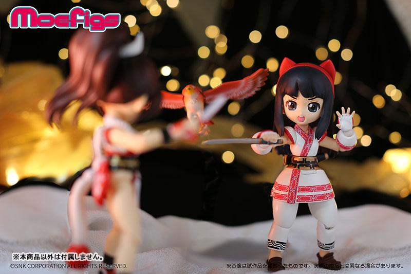 The King of Fighters XIV Nakoruru Posable Figure