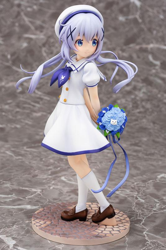 Is the order a rabbit?? Chino (Summer Uniform) 1/7 Complete Figure 0