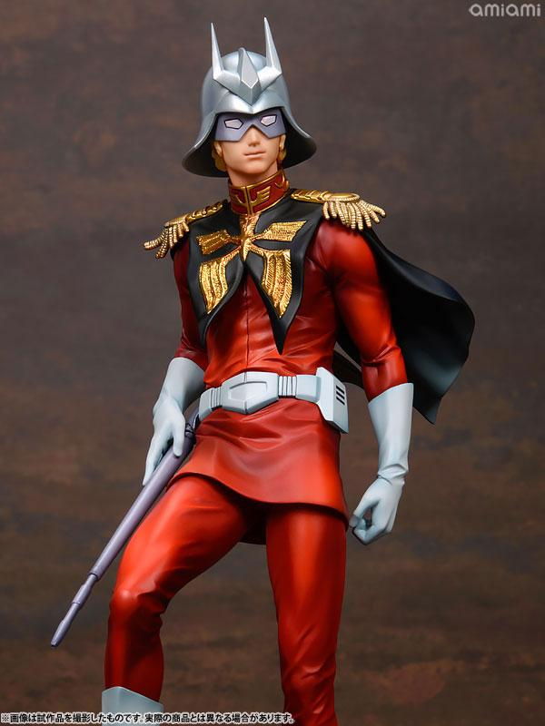 GGG (Gundam Guys Generation) Mobile Suit Gundam Char Aznable 1/8 Complete Figure 21