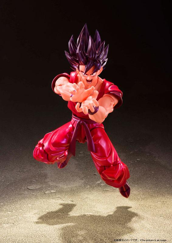 """S.H.Figuarts Son Goku Kaio-ken """"Dragon Ball Z"""" 1"""