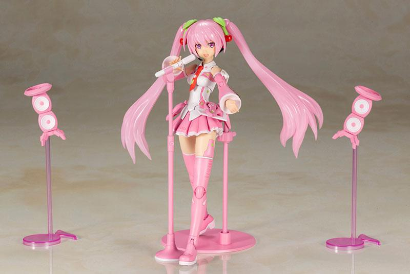 Frame Arms Girl Frame Music Girl Sakura Miku Plastic Model 2